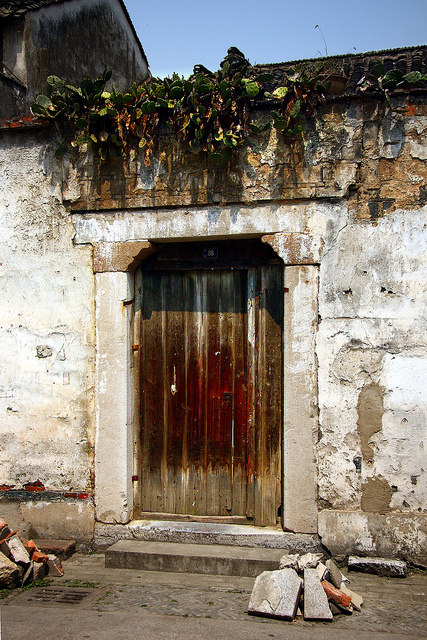 Mudu old door